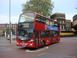 รถบัสในอังกฤษ