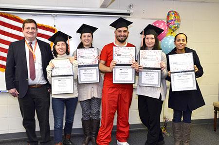 Bir-Traning-Center graduate