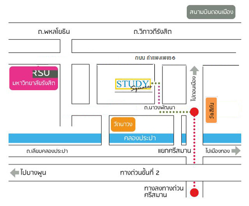 Study Square Office Map